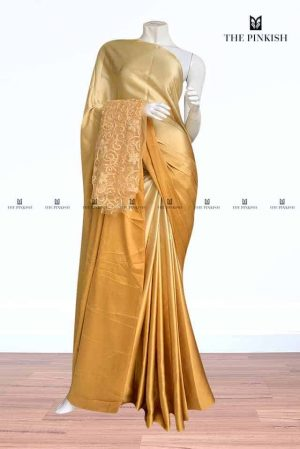The Pinkish -Satin Silk Sarees30