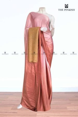 The Pinkish -Satin Silk Sarees32