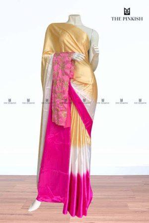 The Pinkish -Satin Silk Sarees39
